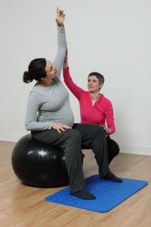 Pregnancy Pilates Exercise